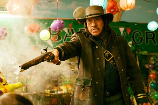 """Machete""-Star Danny Trejo in Action!"